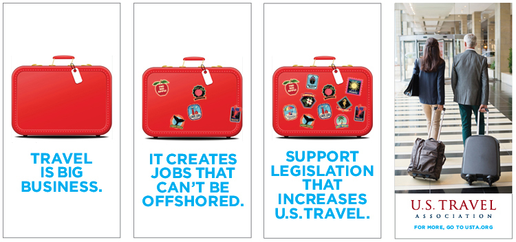 Web ad for US Travel