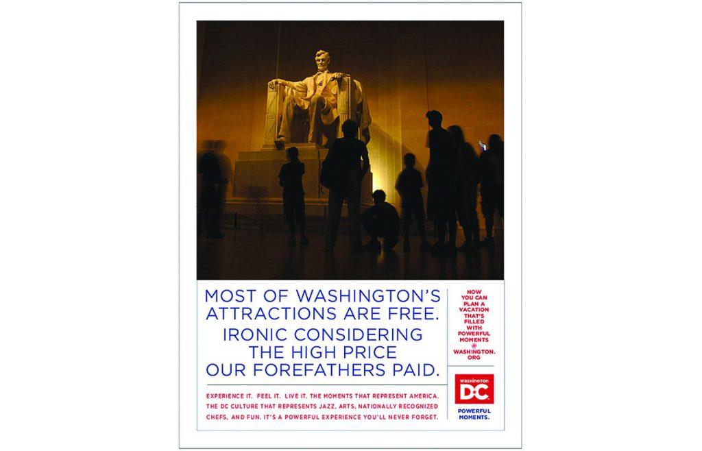 DC Tourism retail ad