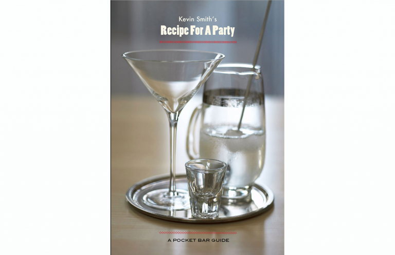Drink booklet for Kevin Smith Photography